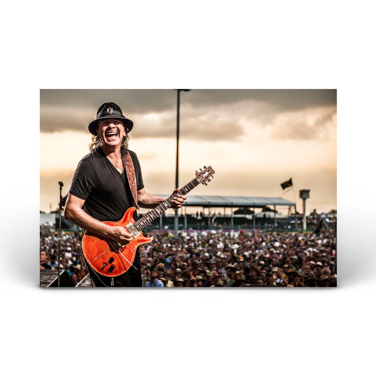 Carlos Santana on Stage