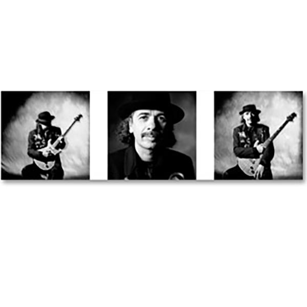 Carlos Santana with Guitar