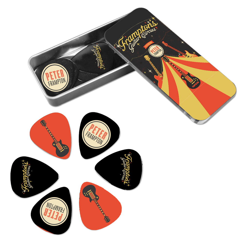 Peter Frampton Guitar Circus Picks In Tin