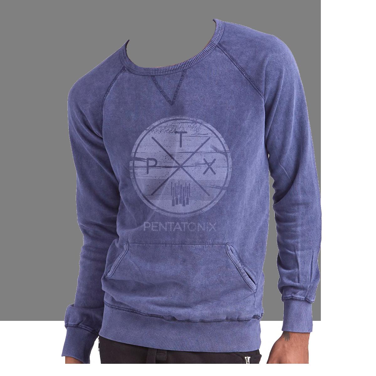 Circle Logo Crewneck Sweatshirt