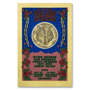 Phil Lesh & Friends 2005 Colorado Run Poster