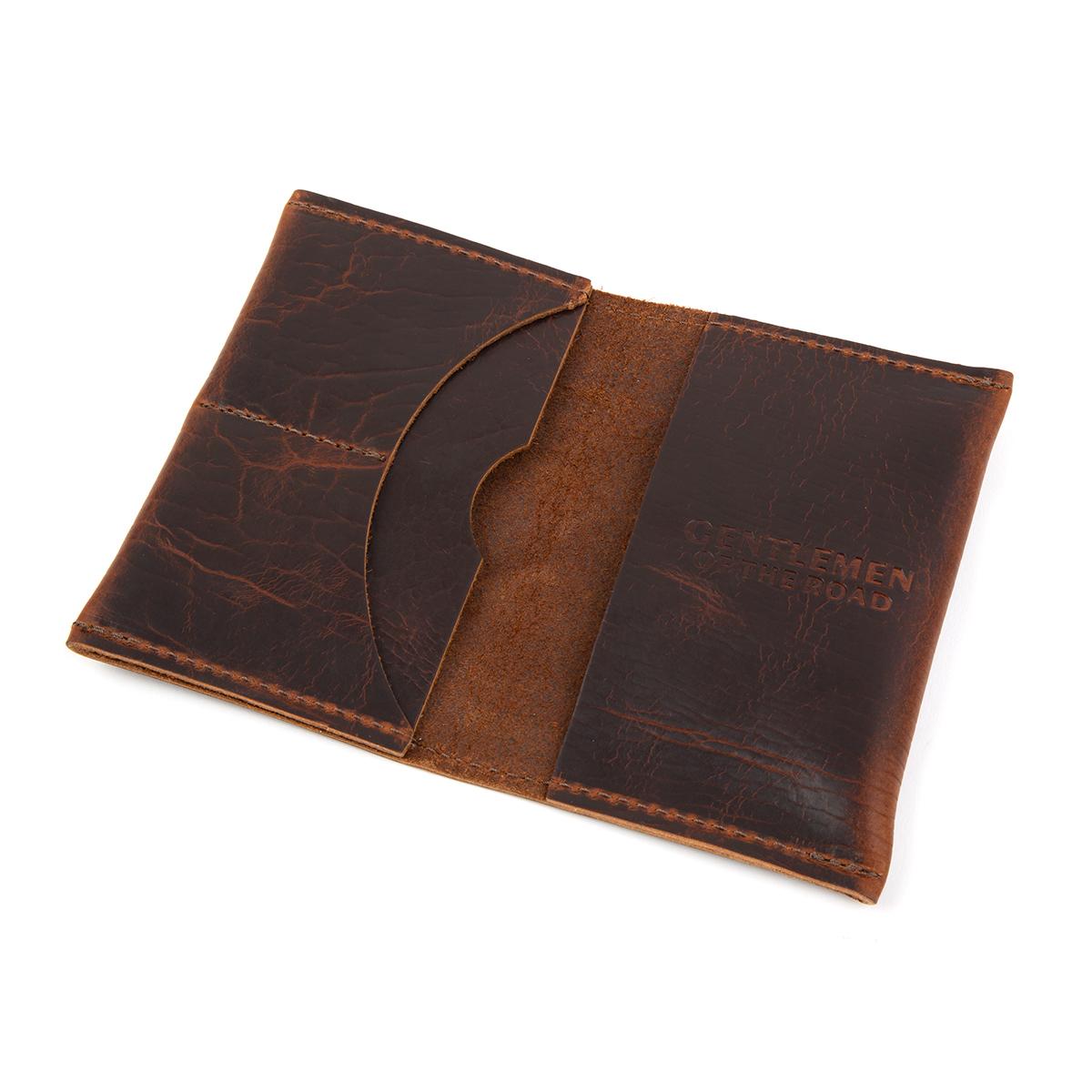 GOTR Leather Passport Wallet