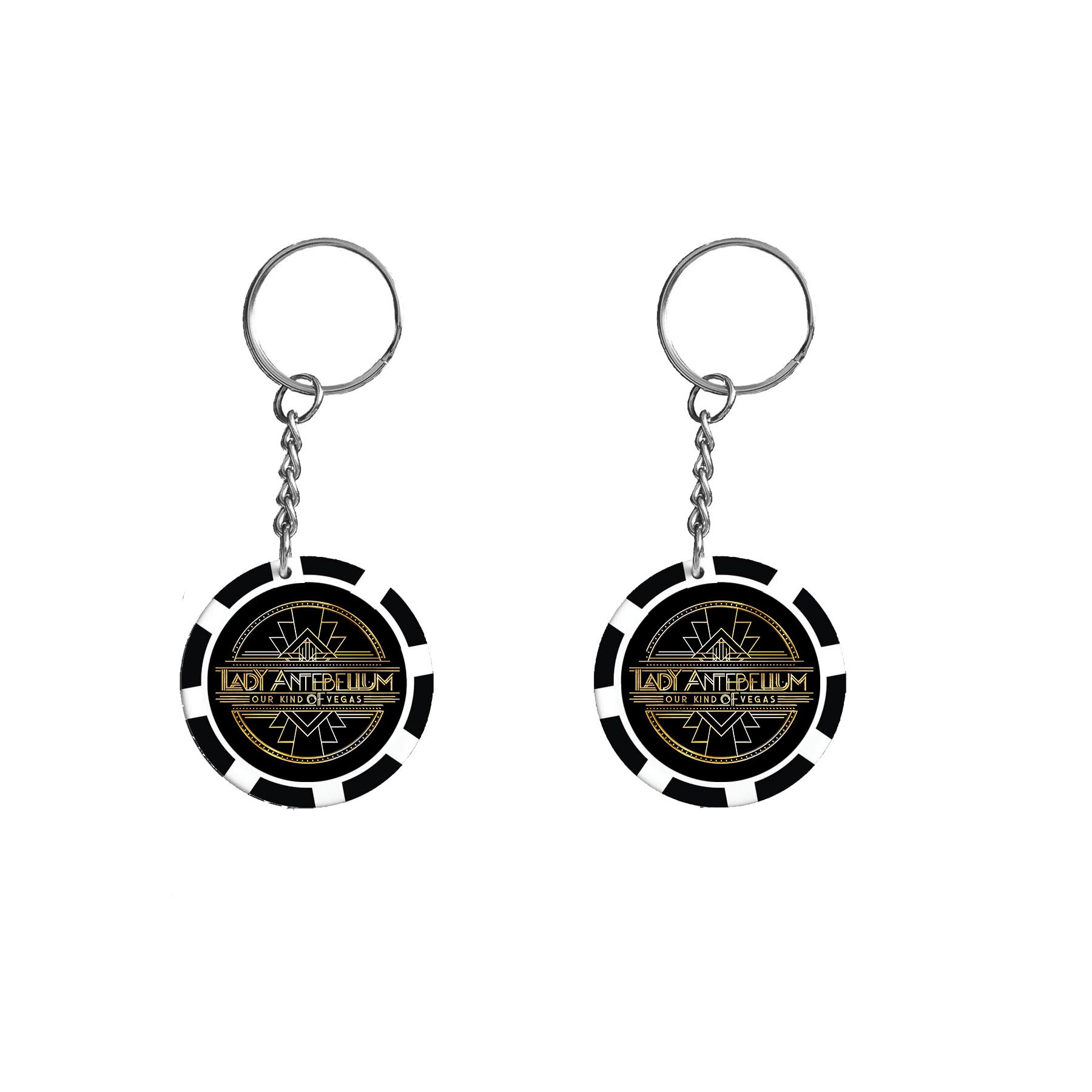 Lady Antebellum - Poker Keychain