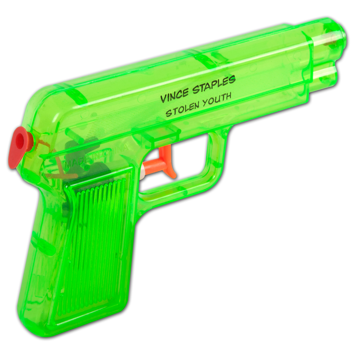 Vince Staples Quot Stolen Youth Quot Water Gun Musictoday Superstore
