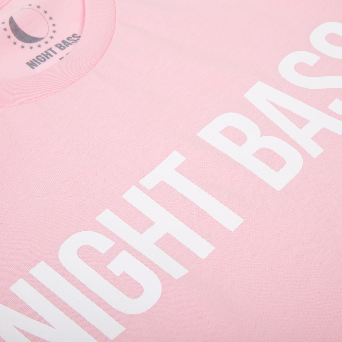 Night Bass Classic T-Shirt in Pink