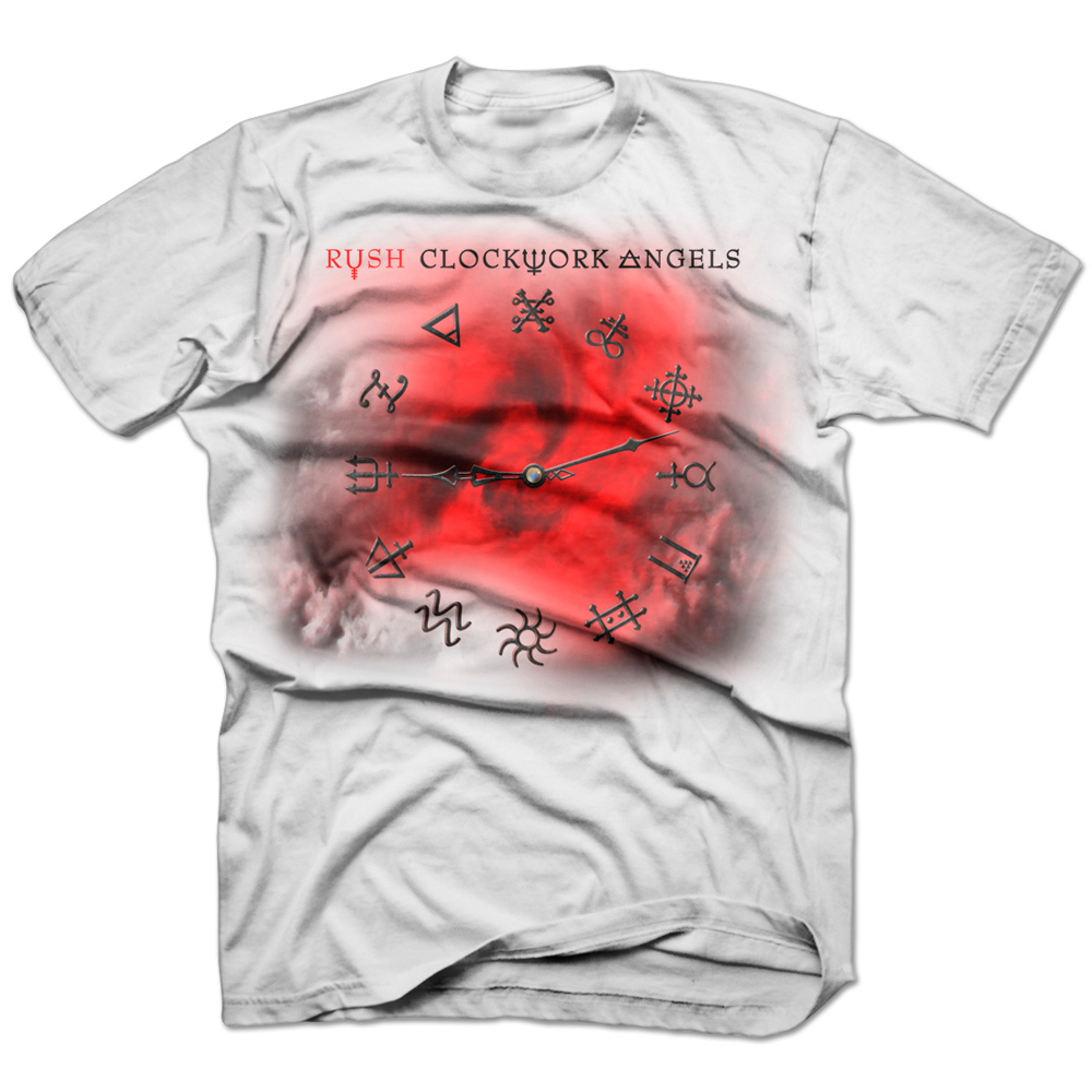 Rush Clockwork Angels Tour T-Shirt Pre-Order