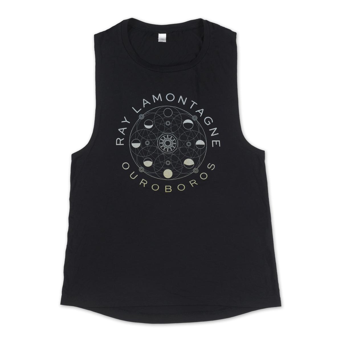 Ray LaMontagne Ouroboros Ladies Tank Top