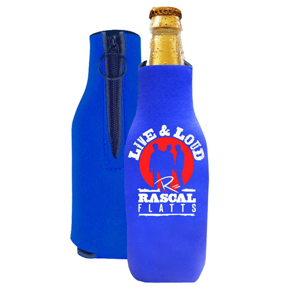 Live & Loud Bottle Coozie