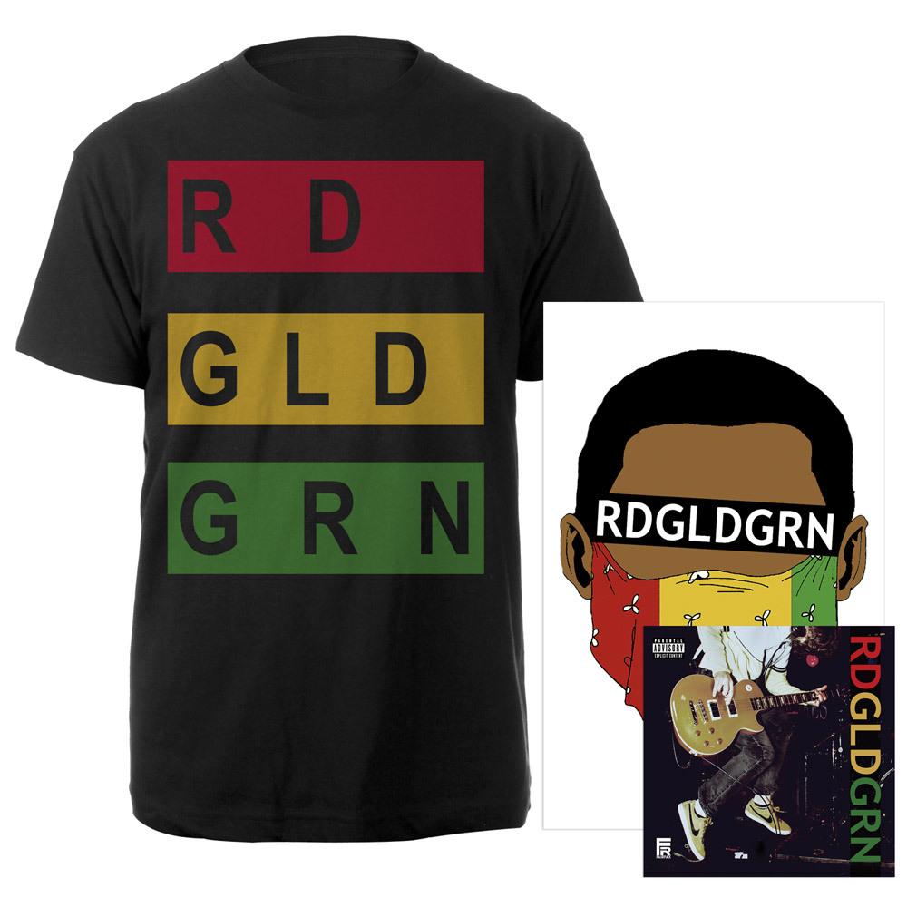"RDGLDGRN ""Stacked Logo"" Album Bundle"