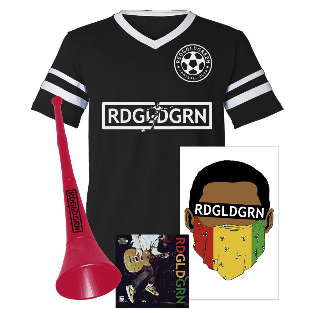 """RDGLDGRN """"Football Club"""" Album Bundle"""