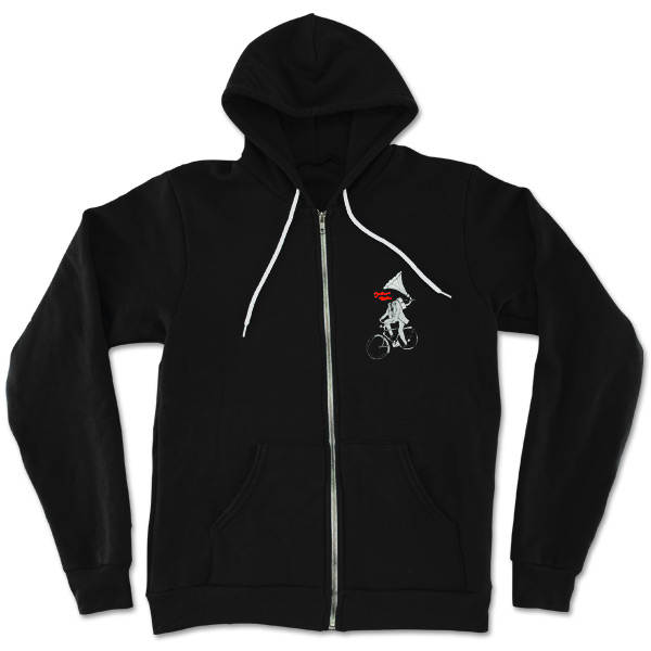 Black Bicycle Hoodie