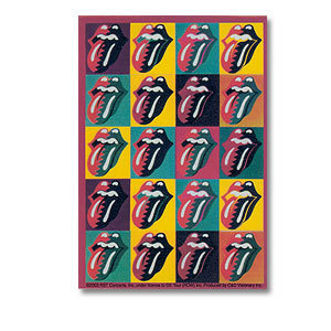 Rolling Stones - Tongues Sticker