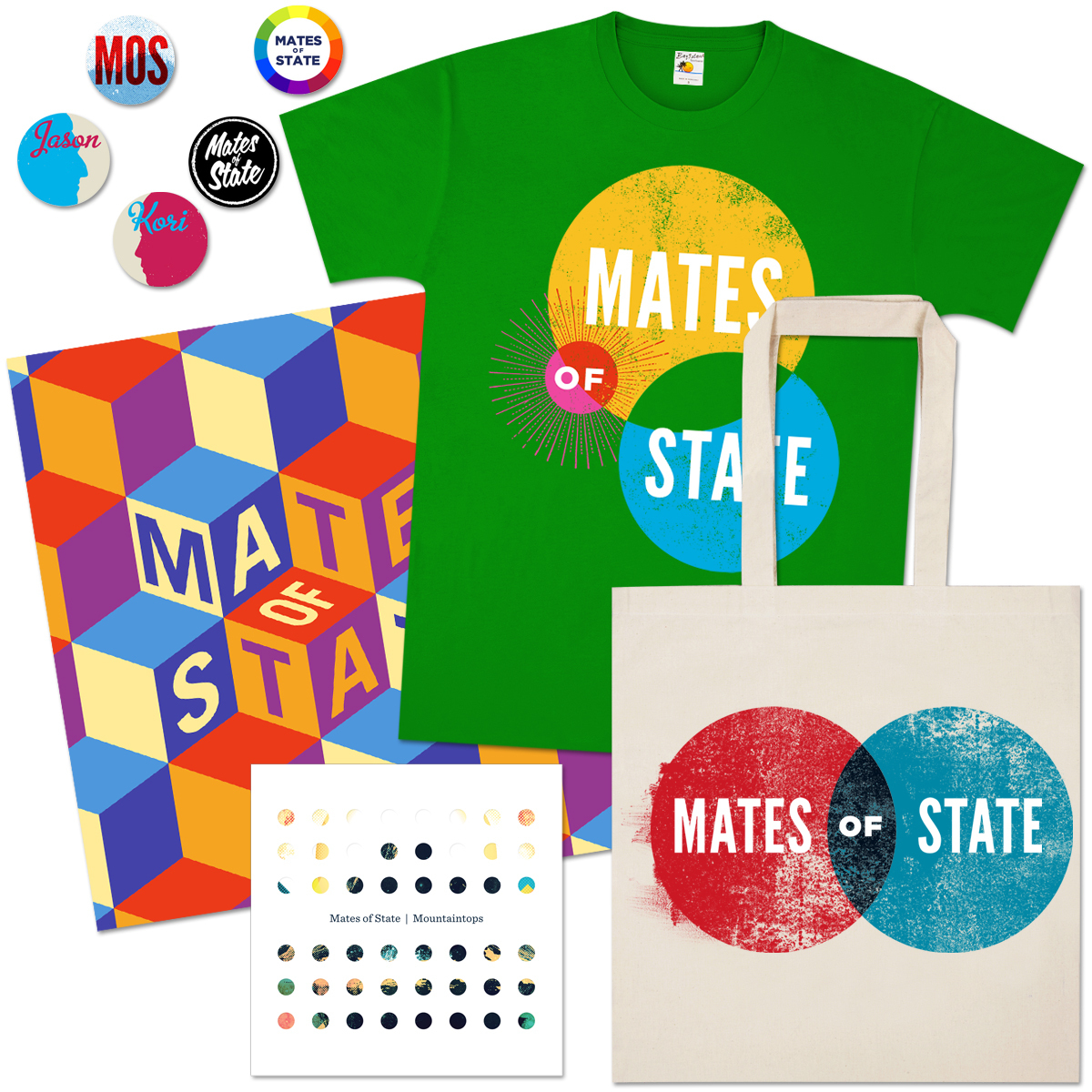 Mates of State Mountaintops Completist CD Bundle