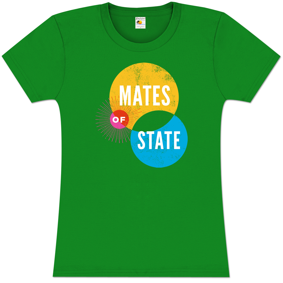 Mates of State Women's Circles T-Shirt
