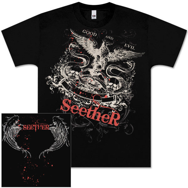 Seether Good and Evil Mens Tee