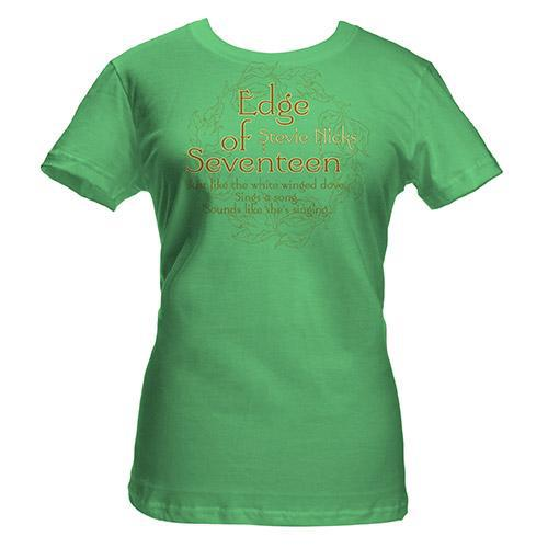 Stevie Nicks Edge of 17 Babydoll Tee