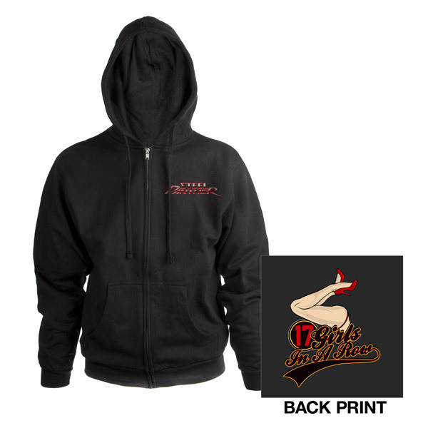 Steel Panther Zip Hoody