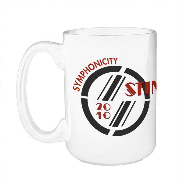 Sting White Coffee Mug