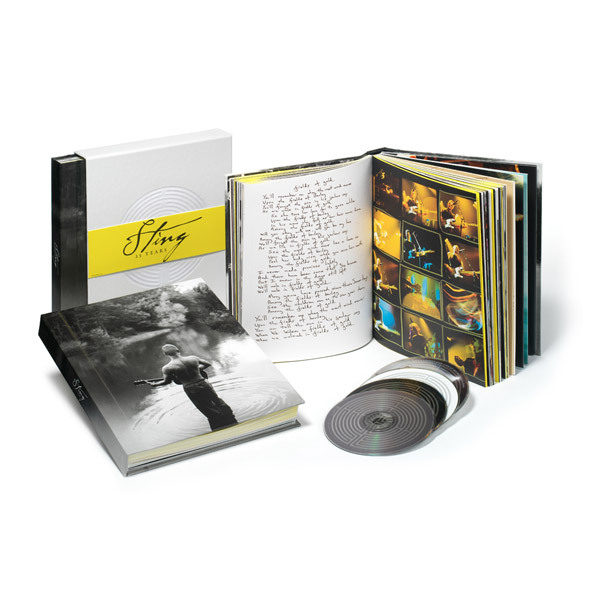 Sting 25 Years The Definitive Box Set Collection 3 CD's + DVD