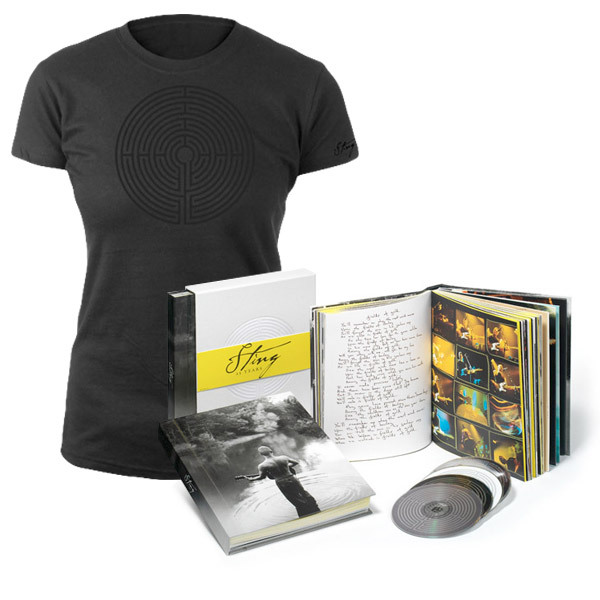 NEW - BOX SET & WOMEN'S BLACK LABYRINTH TEE  BUNDLE SPECIAL - $139.95