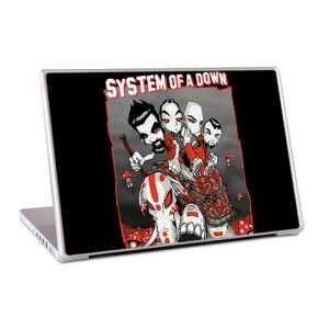 "System Of A Down SOAD 13"" Lap Top Skin"