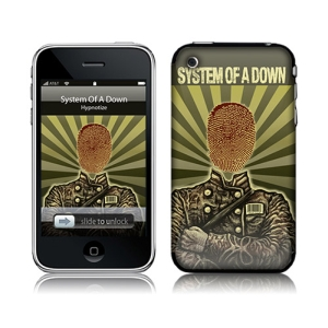 System Of A Down Thumbprint Soldier iPhone (2G3G3GS) Skin