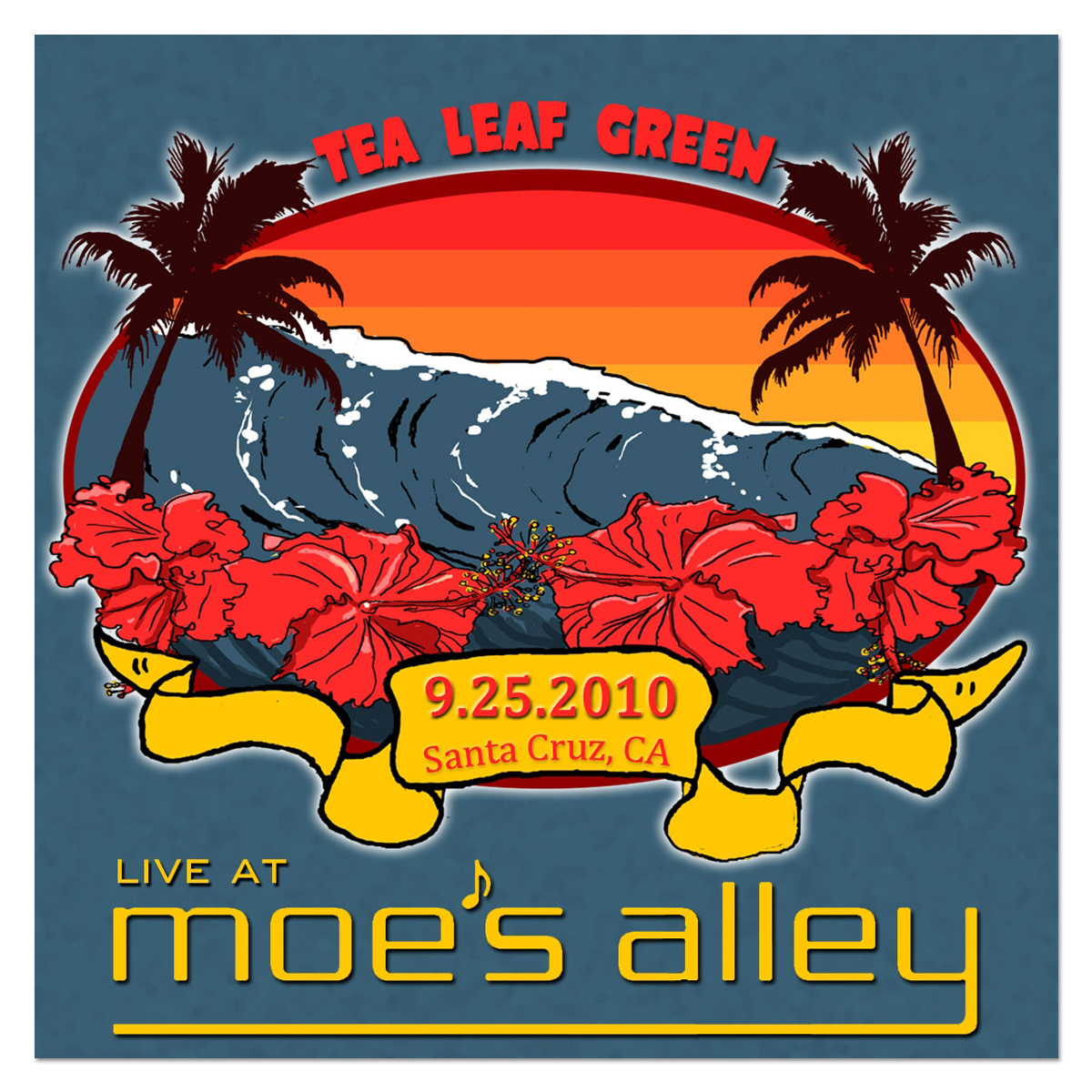 Moe's Alley, Santa Cruz, CA - 9/25/2010