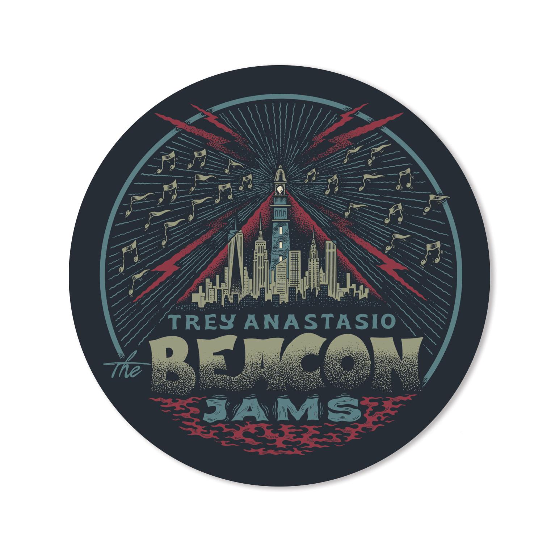 Trey Anastasio The Beacon Jams Sticker
