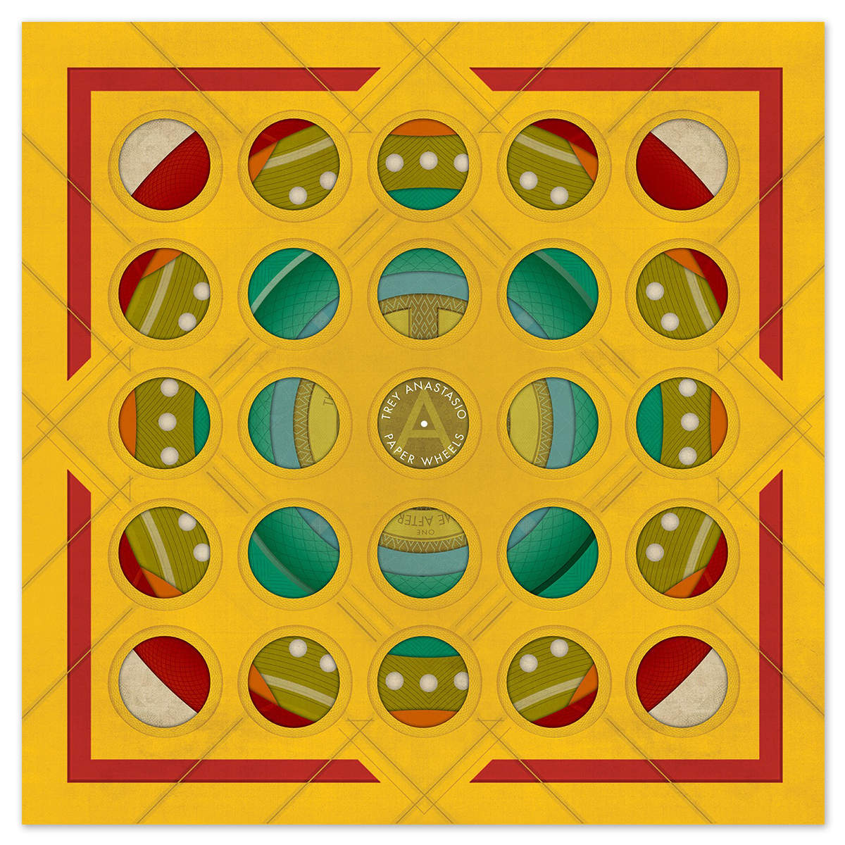 "Trey Anastasio ""Paper Wheels"" CD"