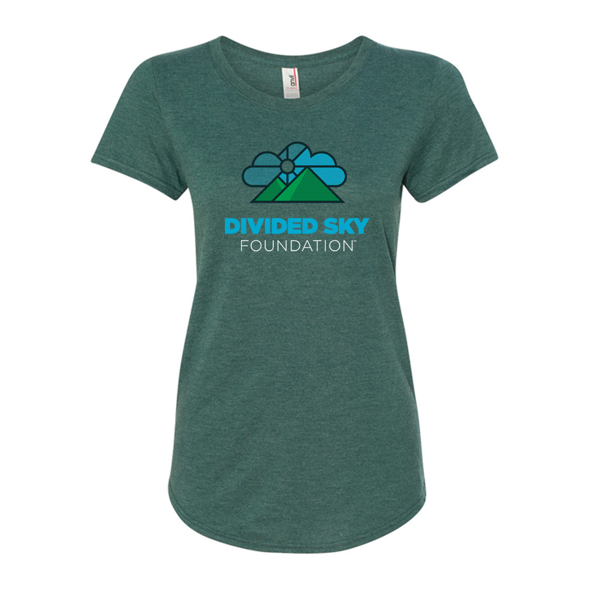 Women's Divided Sky Foundation Tri-blend Tee