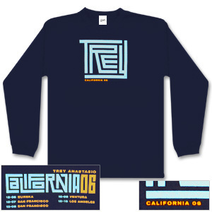 Trey Anastasio Long Sleeve California Maze T-Shirt