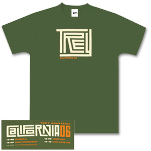 Trey Anastasio Green California Maze T-Shirt