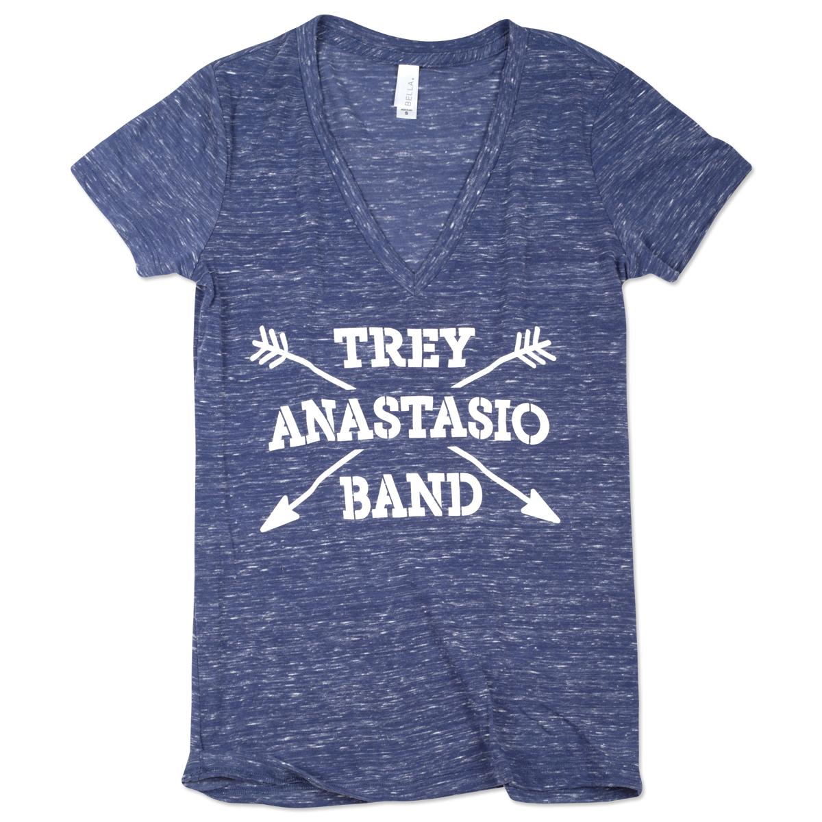 Trey Anastasio Band Ladies Arrows T on Marble Royal