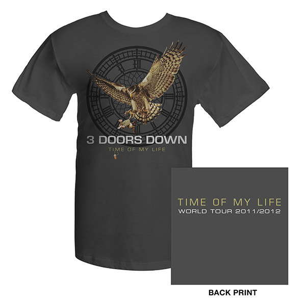 3 Doors Down Time Of My Life Event Tee
