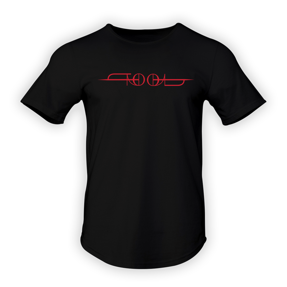Tool Logo Men's Curved Hem Premium T-Shirt