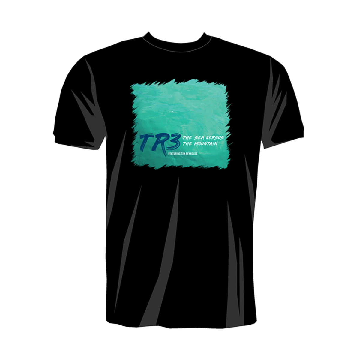 The Sea Versus the Mountain CD Release Tour T-shirt