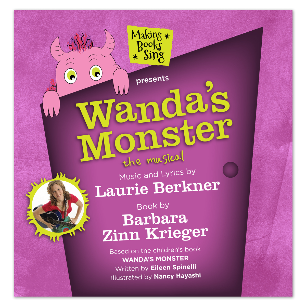 Wanda's Monster CD