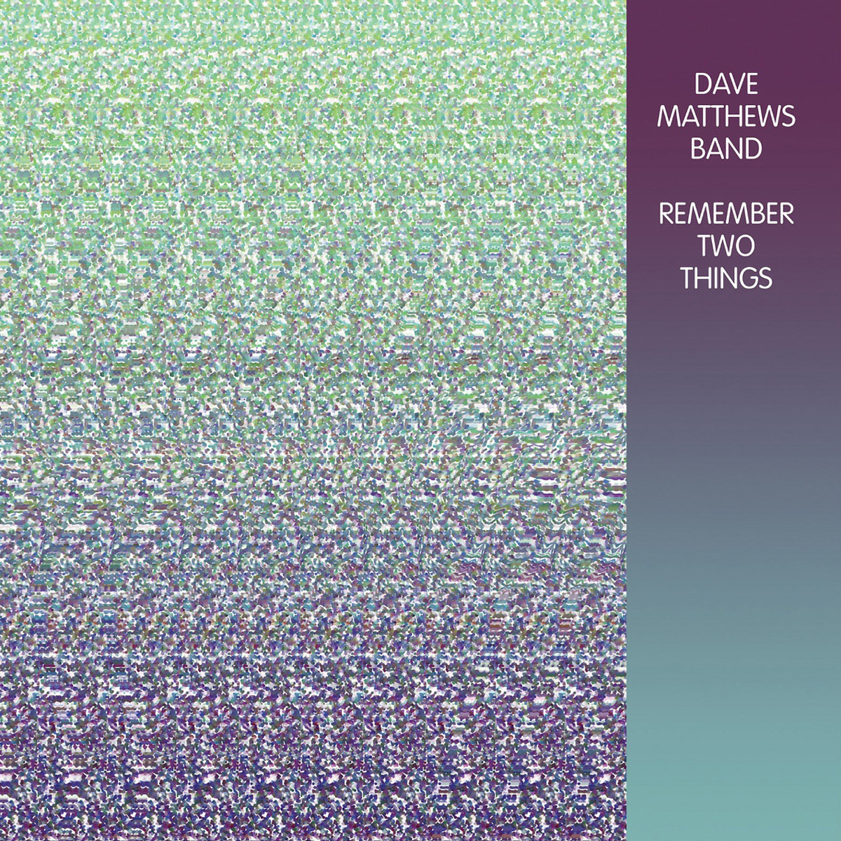 Remember Two Things 2-LP