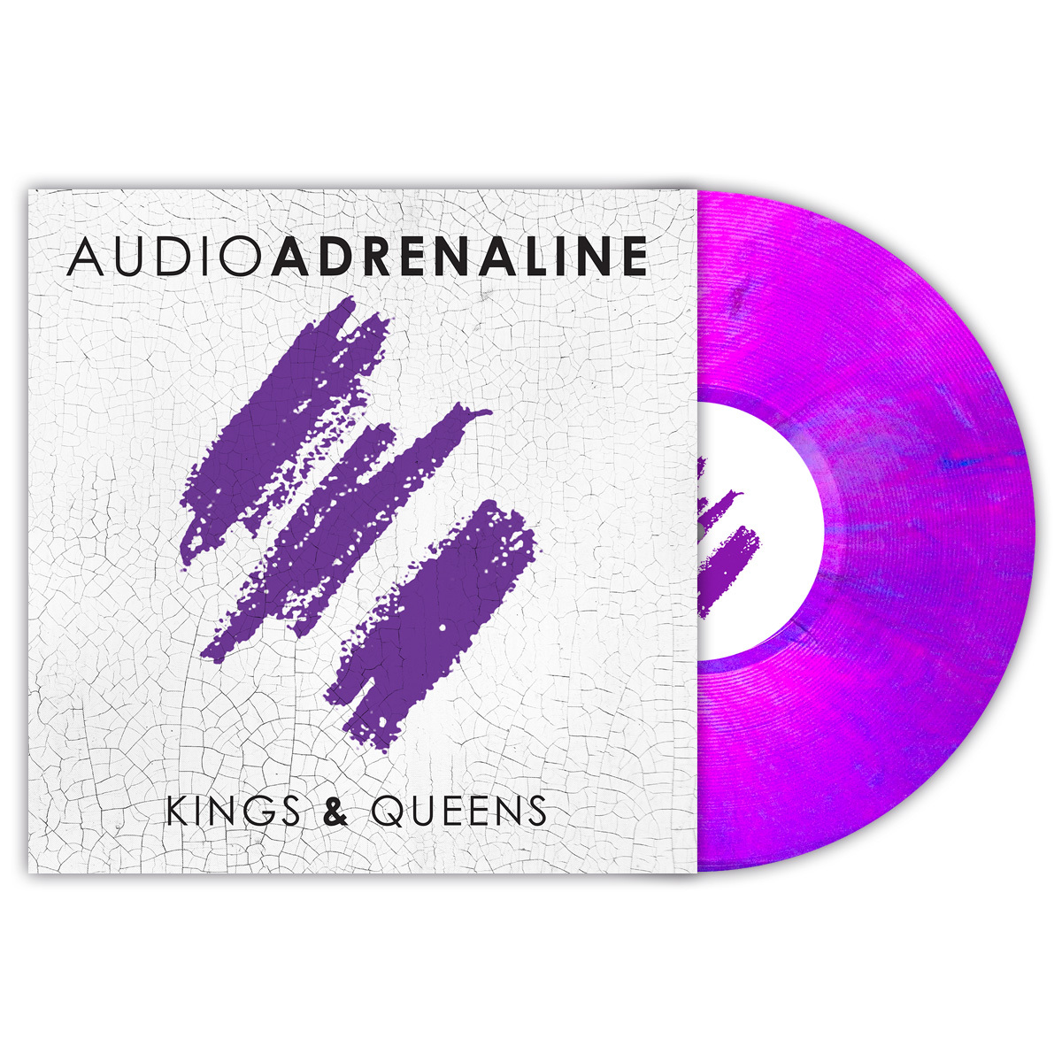 Kings & Queens Limited Edition Transparent Purple Vinyl