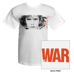 U2 WAR Album Cover T-Shirt (White)