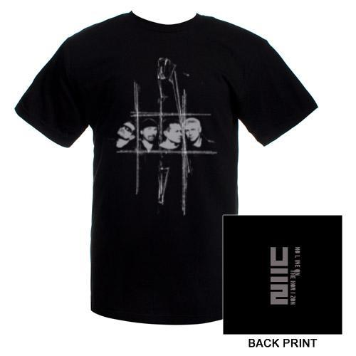 U2 'No Line On The Horizon' Band T-Shirt