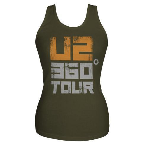 U2com U2 360 Tour Tank Top