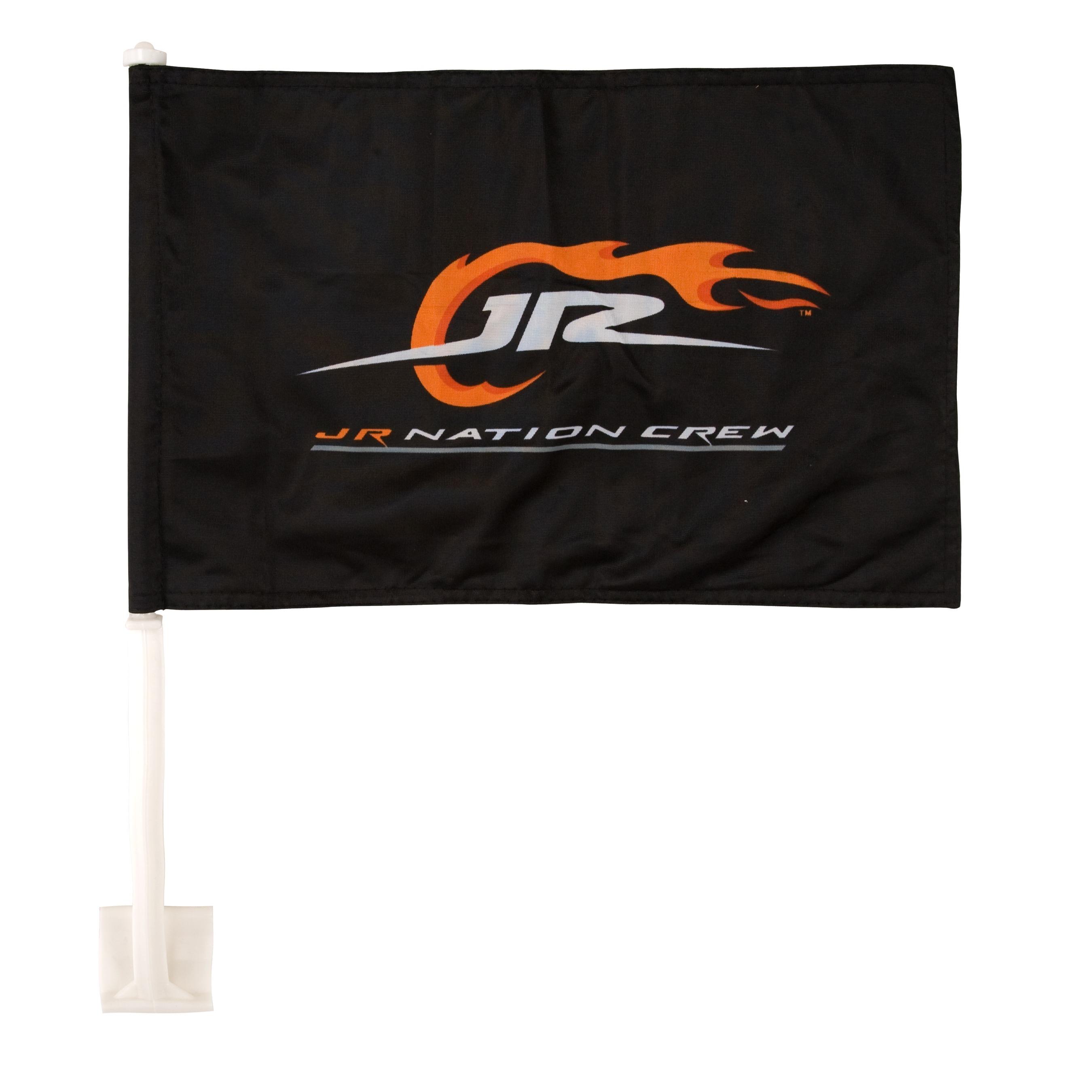 JR Nation Crew Car Flag