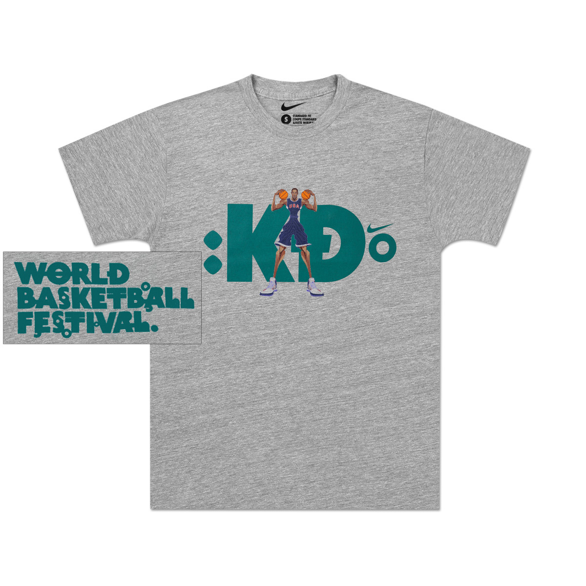 2010 Kevin Durant Youth Player T Shirt Musictoday Superstore