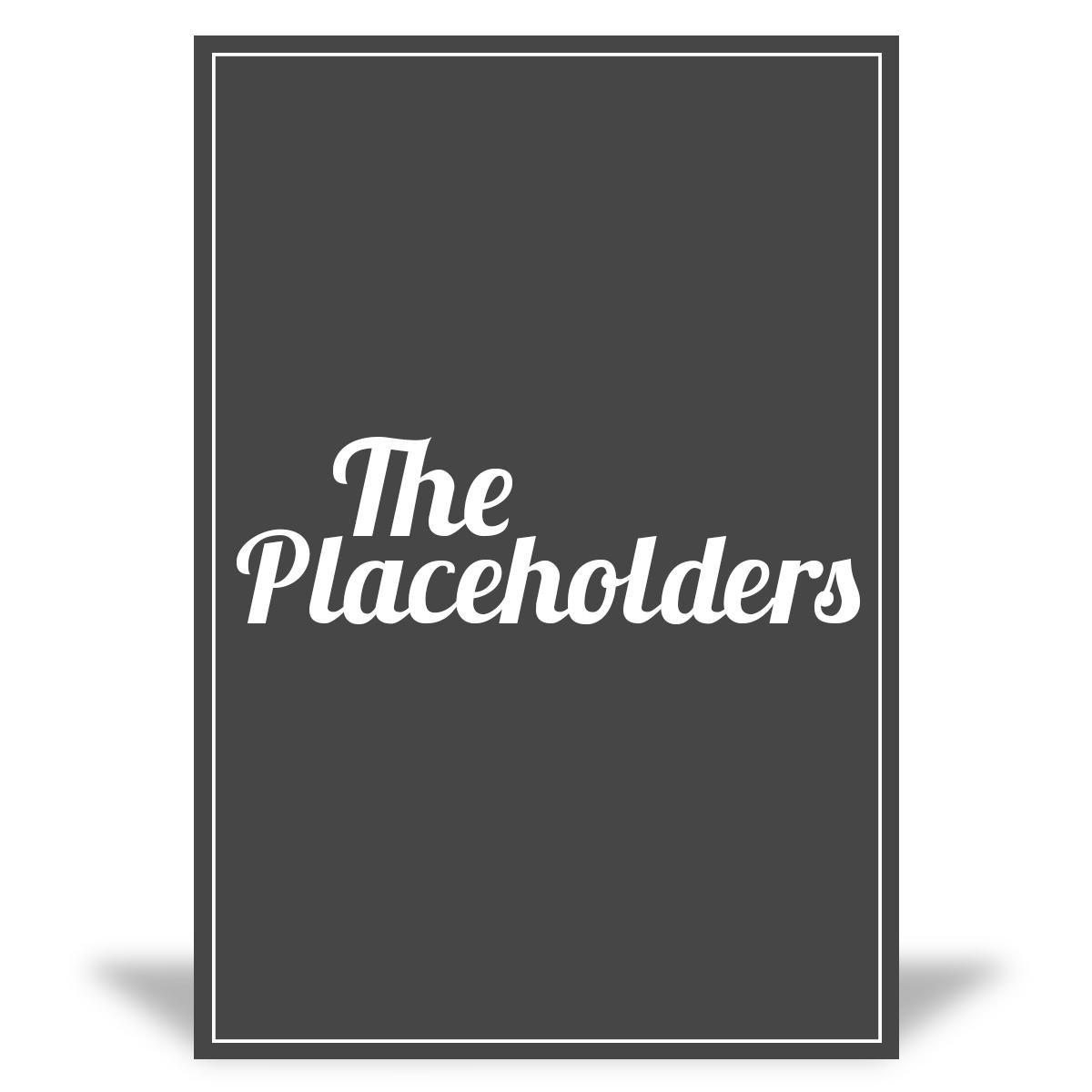 Placeholder Test Litho