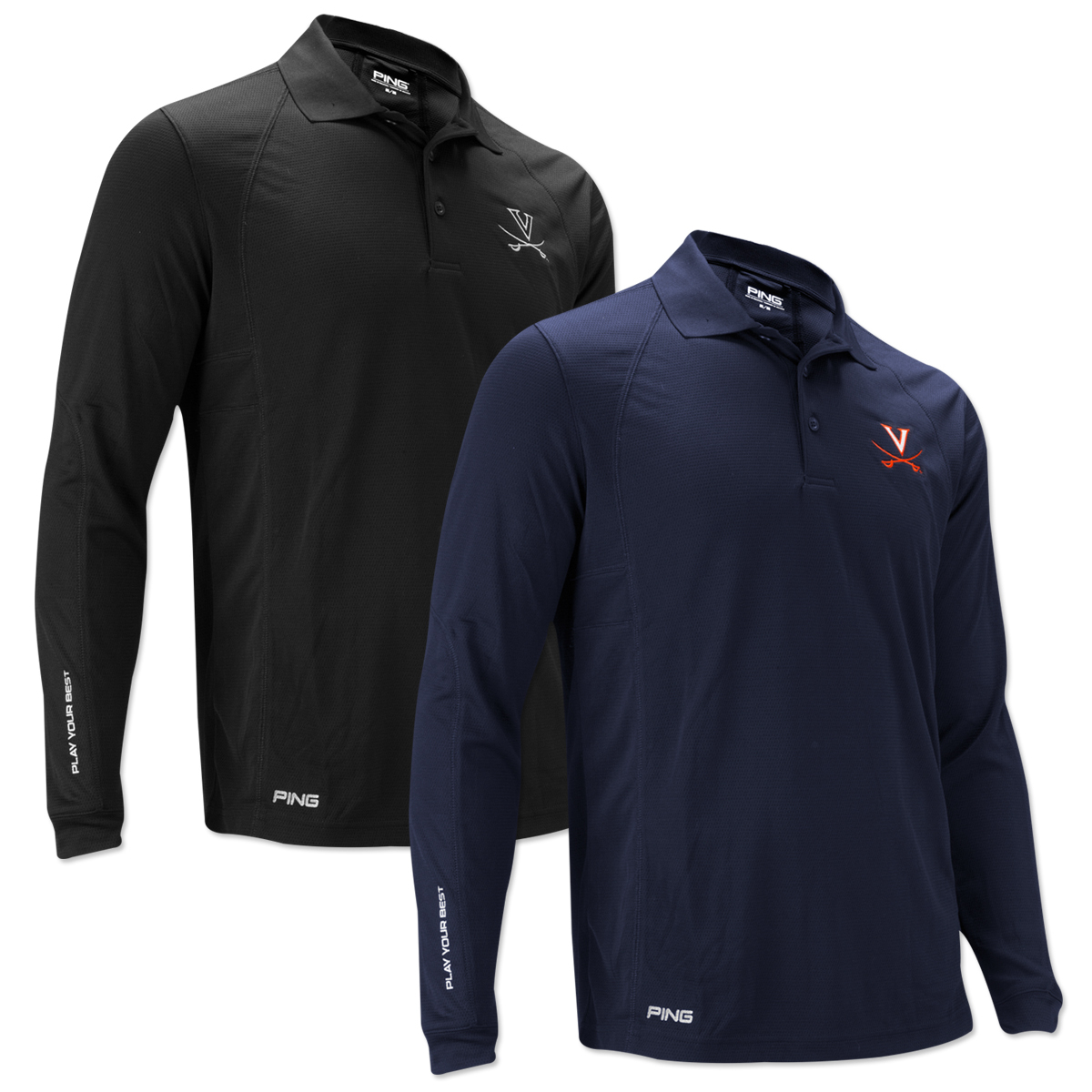 Uva ping switch perfomance long sleeve shirt musictoday for Uva long sleeve t shirt