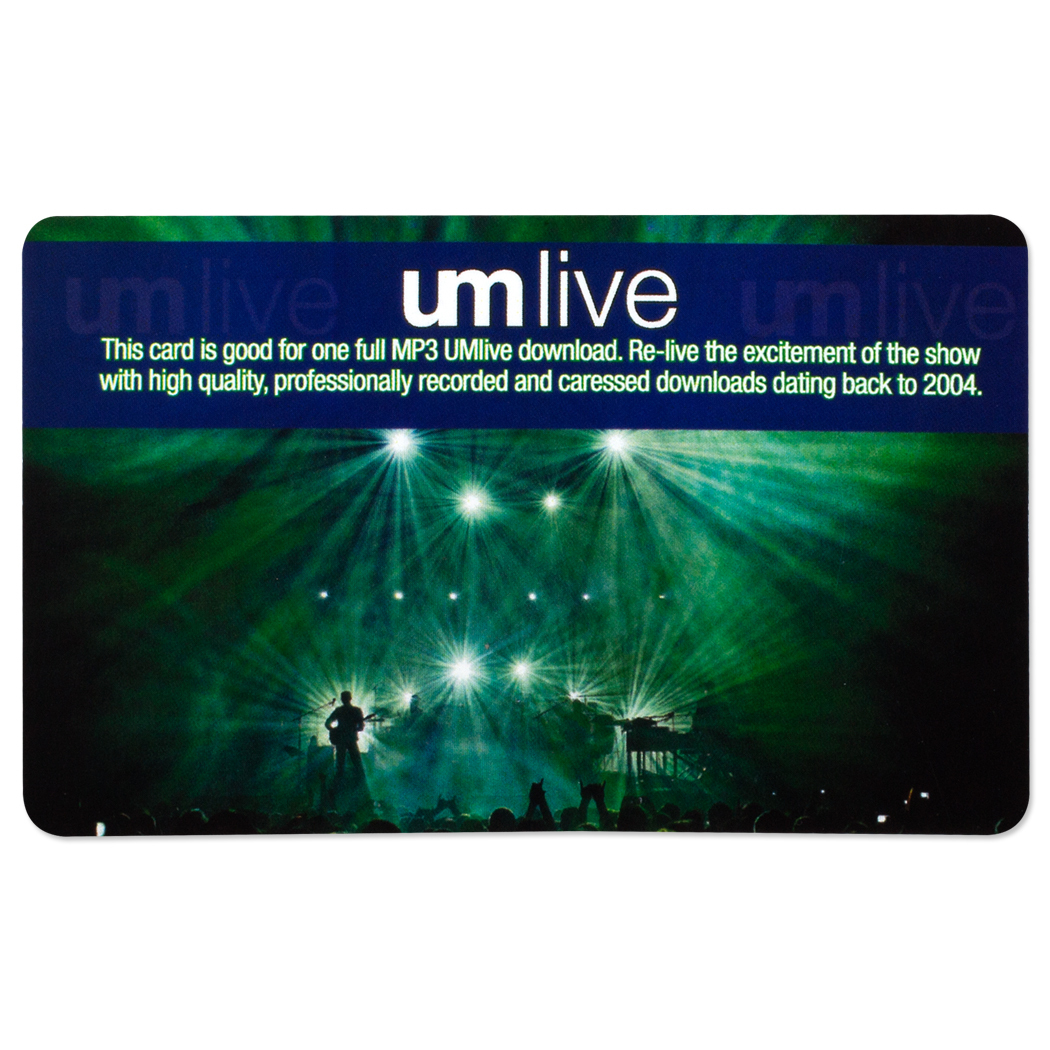 UMLive.net Download Card