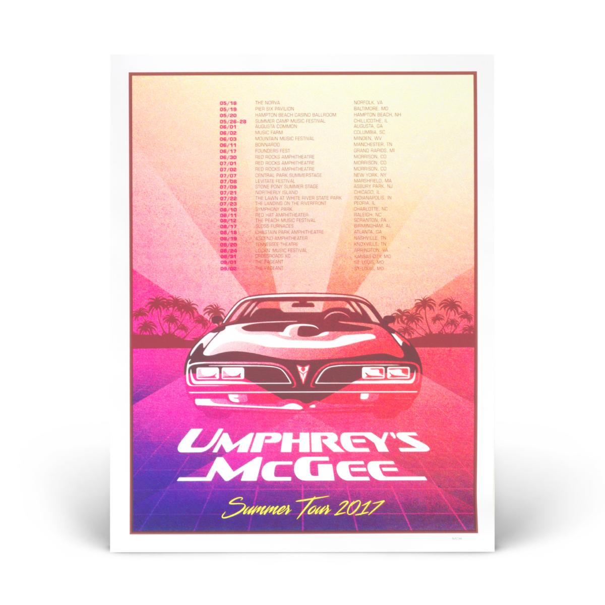 2017 Summer Tour Poster