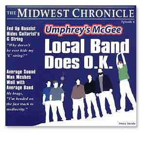 Umphrey's McGee- Local Band Does O.K. - CD