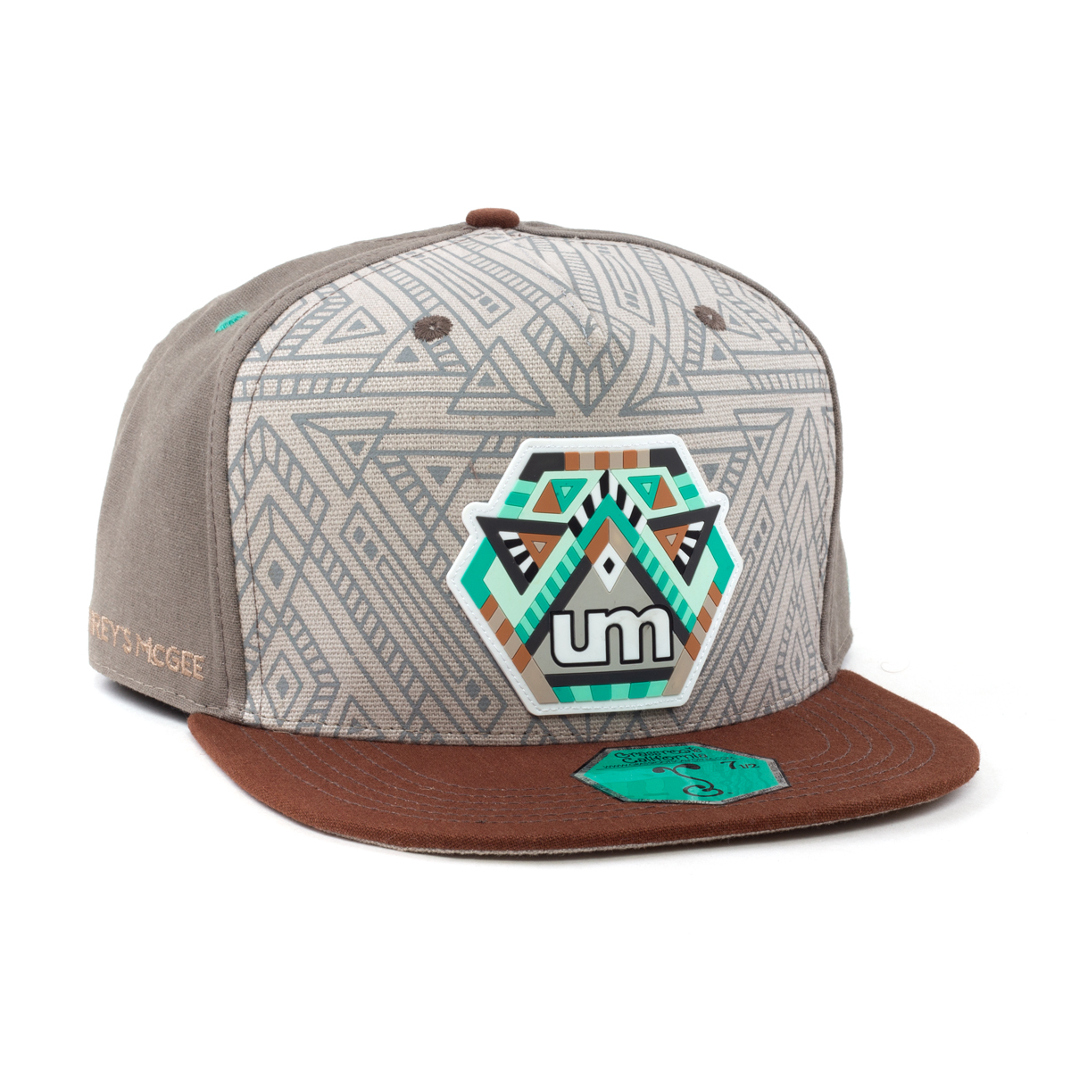 Tribal Grassroots Hat w/ Rubber Patch